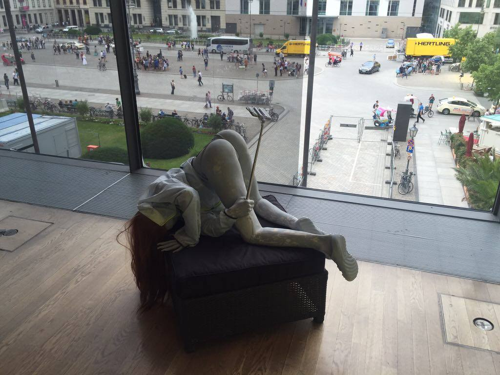 <i>9-я Берлинская Биеннале Современного искусства. Фото: Дмитрий Лукьянов.</i>