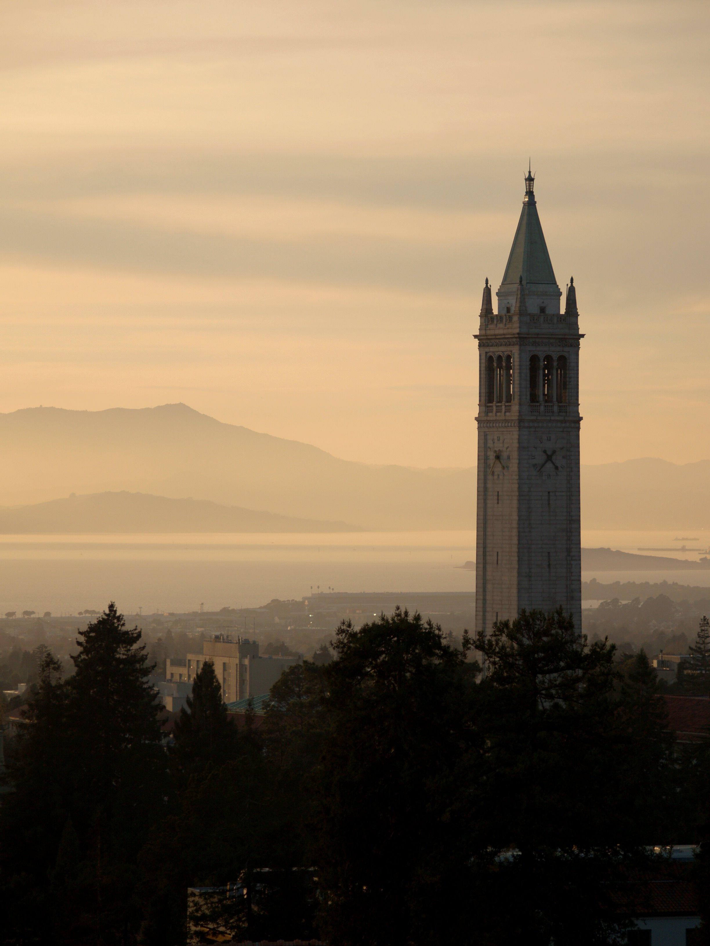 Sather Tower, Университет Беркли, США