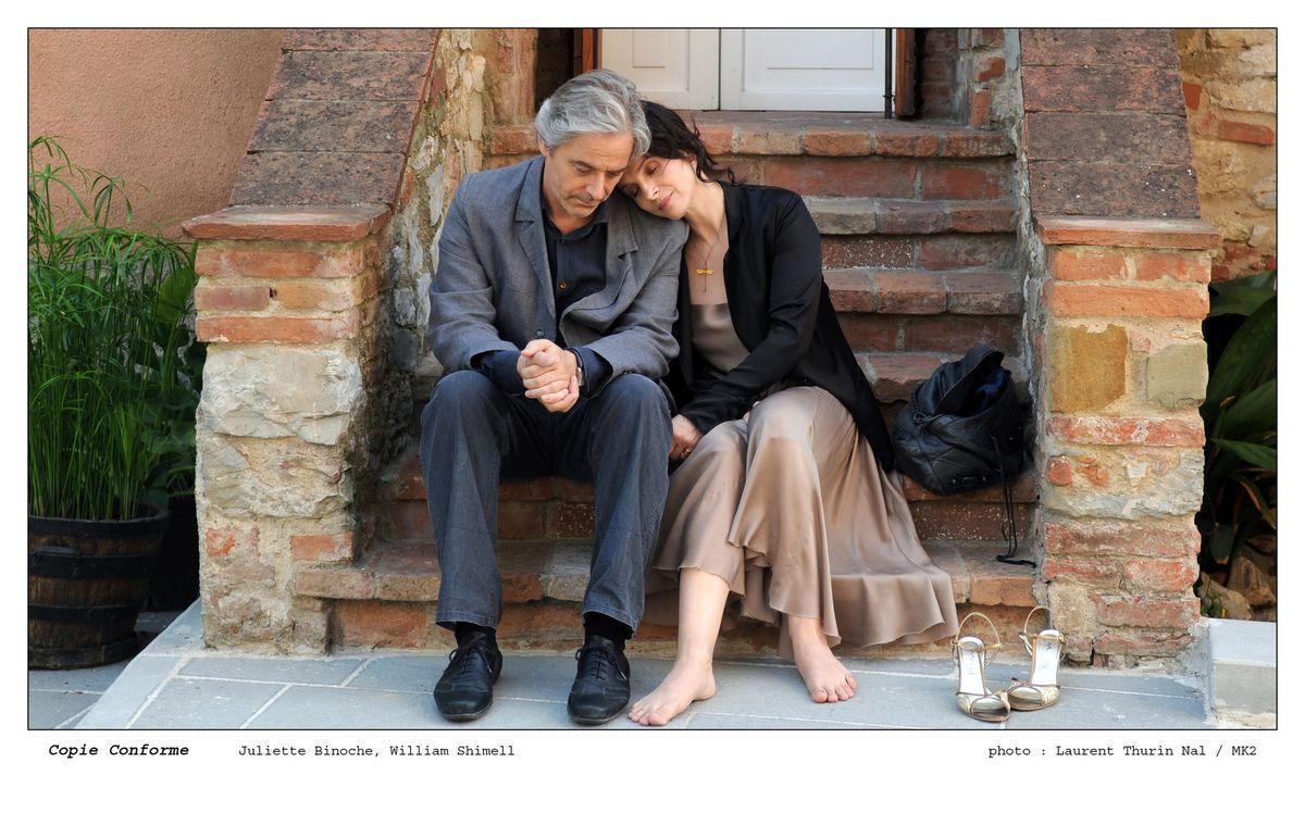 кадр из к/ф «Копия верна» Аббаса Киорастами