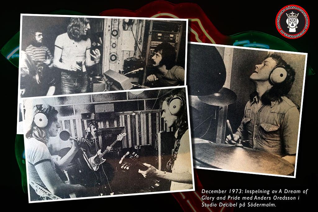 Фотографии с записи первого альбома