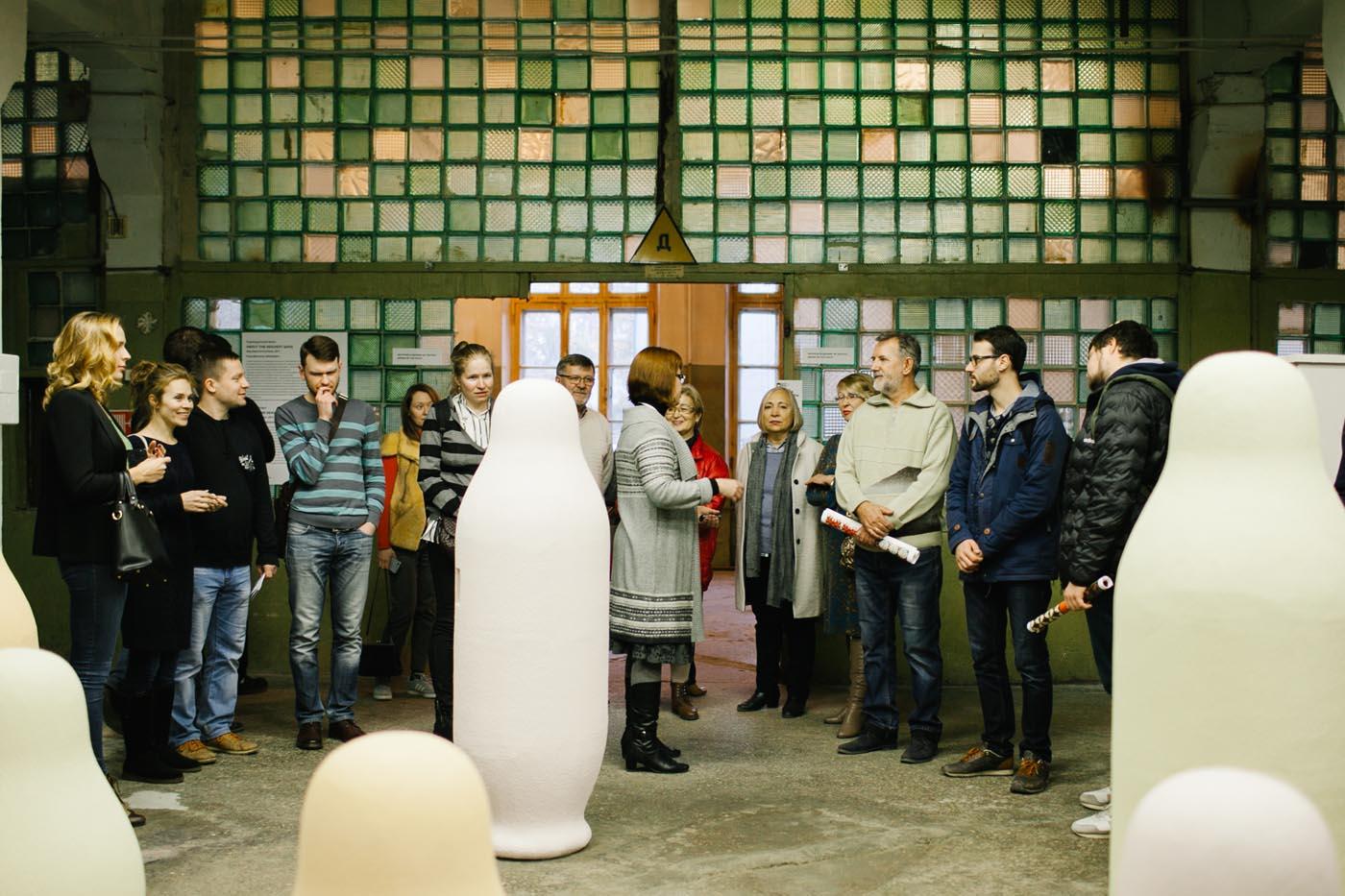 Арт-медиация на 4-й Уральской индустриальной биеннале (на фото – работа Флориана Графа)