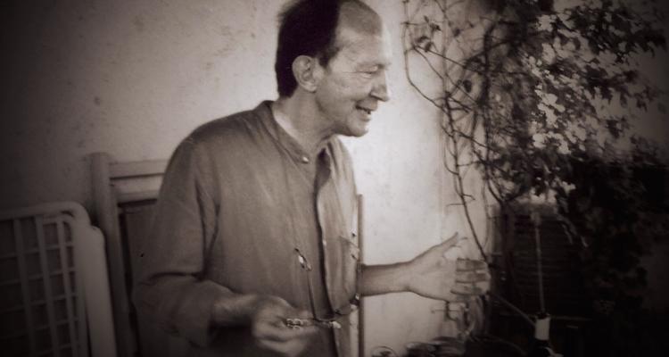 Джорджо Агамбен в своем доме в Венеции, 2007. Фото:Cláudio Oliveira
