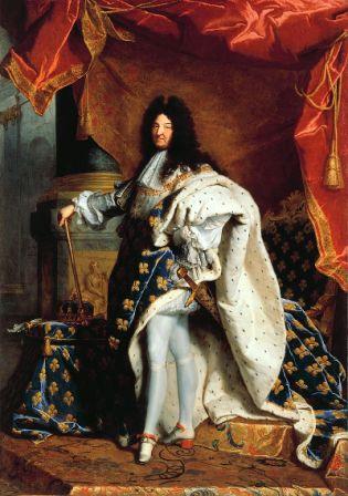 Гиацинт Риго «Портрет Людовика XIV», 1701, музей Лувр, Париж.Источник фото: ru.wikipedia.org