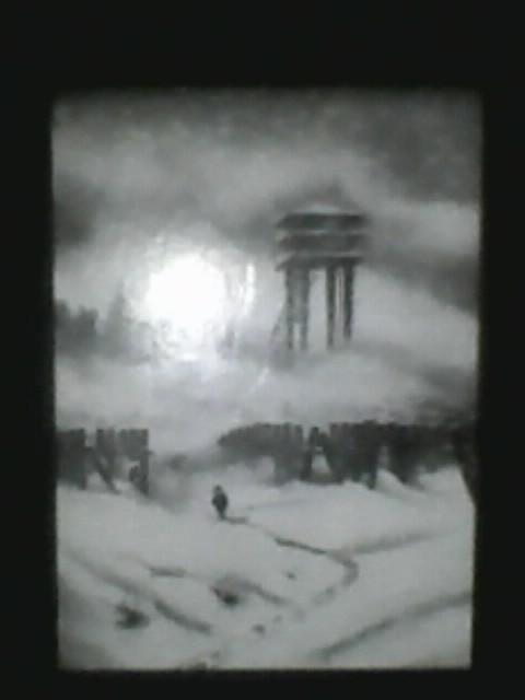 Обложка книги «Заметки на полях» Дмирия Теткина, где он пытается вырваться из советского секретного города за колючей про