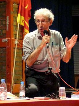 Даниэль Бенсаид, выступление на конференции в Барселоне