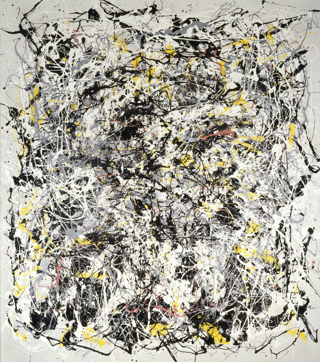 Art & Language, Portrait of V. I. Lenin with Cap, in the Style of Jackson Pollock III, 1980. Copyright: Tate, London,