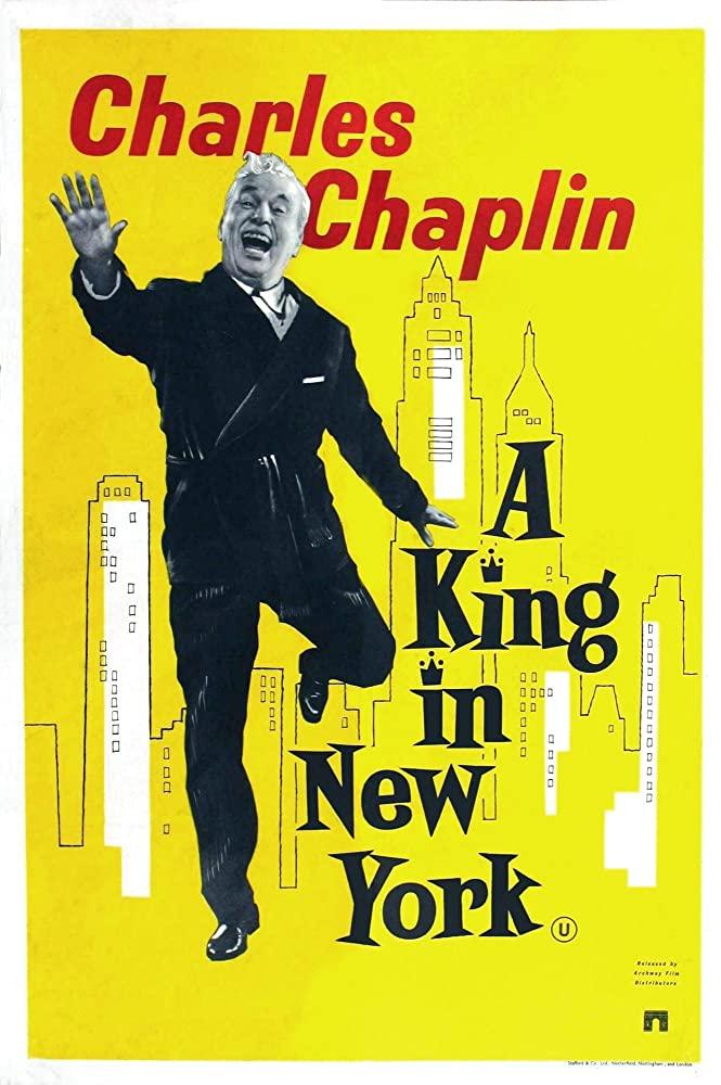 """Афиша """"Короля в Нью-Йорке"""""""