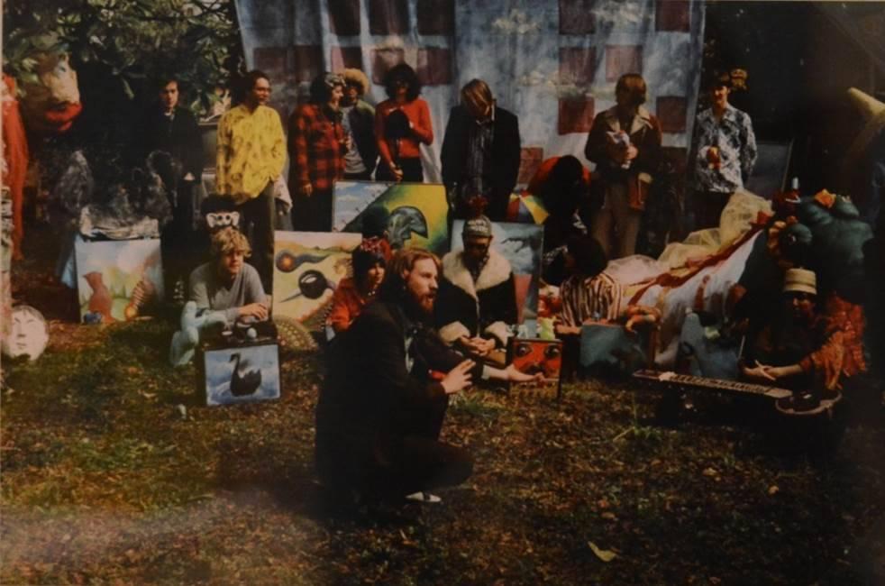 Elephant 6 фотографируются для Rolling Stone. Предположительно, 1996 год. Взято из tumblr