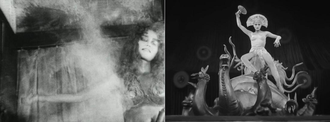 <i>Танец Кей Фудзивары из «Тэцуо» и Марии из «Метрополиса» (1989 vs. 1927)</i>