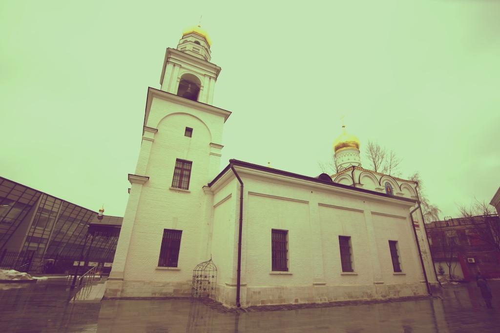Церковь Рождества Богородицы в Старом Симонове, 1855