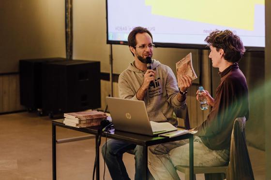 Презентация альманаха [Транслит]» на фестивале «Ревизия». 2019