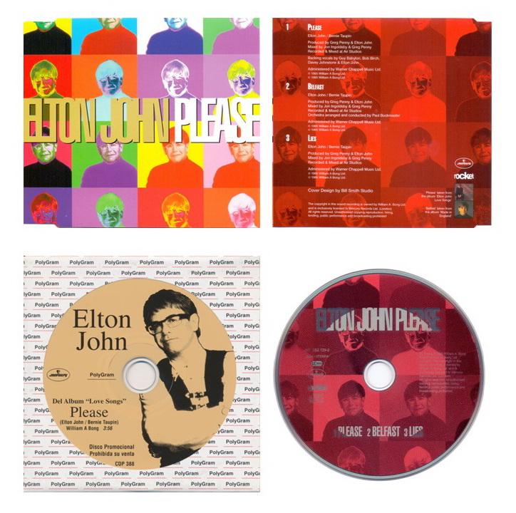 «Please» — четвёртый и последний трек, выпущенный в качестве сингла в 1995 году. (c) Bill Smith Studio