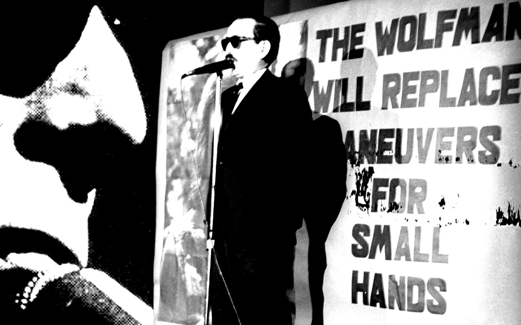 Эшли во время выступления «Wolfman»,1964