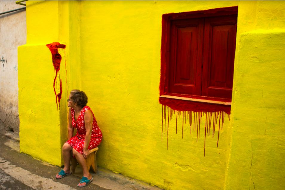 Ариан Ченг Кастан. Из серии «Документальные цвета», 2012—2014. Собственность автора