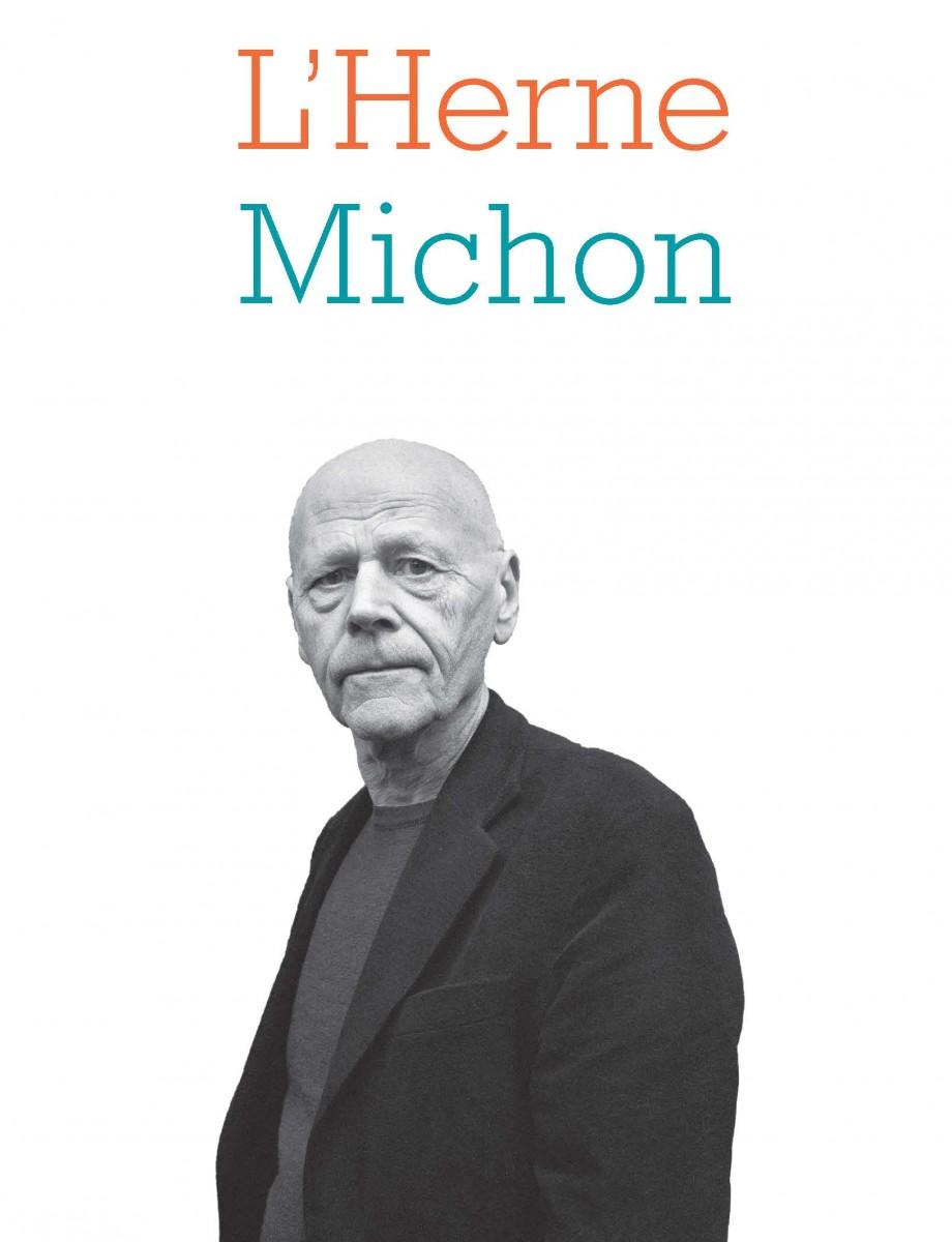 Обложка книги Cahier L'Herne, посвящённой Мишону, 2017