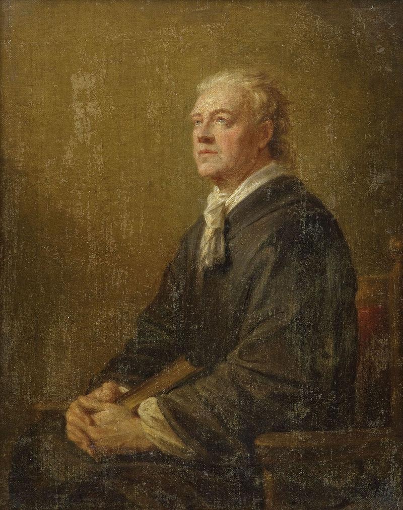 Фюгер, Генрих Автопортрет (около 1818 г.). Холст, масло. 46х37 см