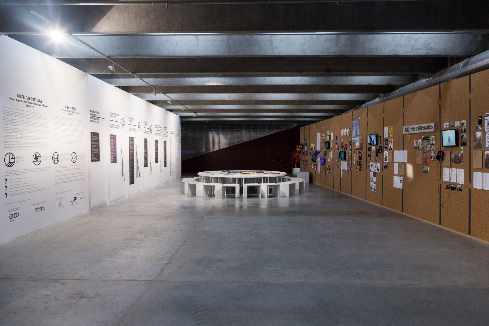 «Открытые системы. Опыты художественной самоорганизации в России. 2000–2015». Музей современного искусства «Гараж», 2015