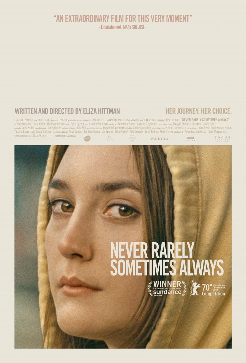 Never Rarely Sometimes Always (Eliza Hittman, 2020)