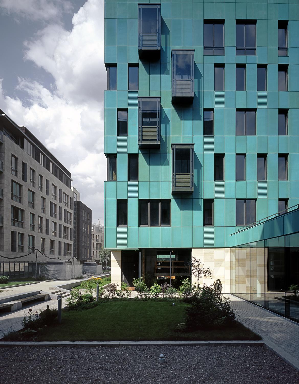 "Sergey Skuratov Architects. Жилой комплекс ""Cooper house"" в Бутиковском пер., д. 3, Москва, 2002-2004"