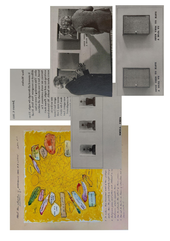 «The Mechanism of Meaning, Work in Progress (1963-71, 1978), Based on a method of Arakawa» (1979)