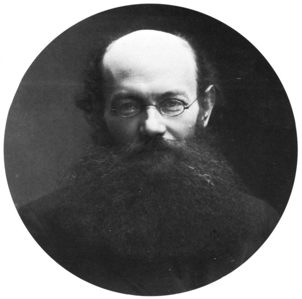 Пётр Кропоткин (1842-1921) , фотография Надара