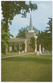 Церковь апостола Павла в городе Идентон, в котором происходили события, описанные в мемуарах Гарриет Джейкобс