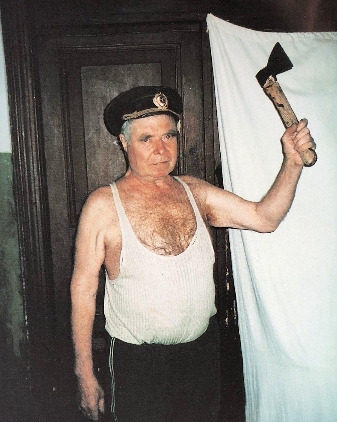 Борис Михайлов. Из серии «История болезни». 1998-1999