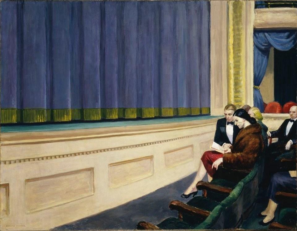 Эдвард Хоппер «Первый ряд оркестра», 1951
