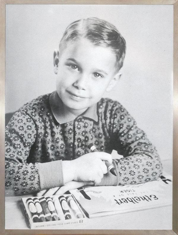 Jeff Koons. Jeff Koons Young (1980). фотография, лайтбокс