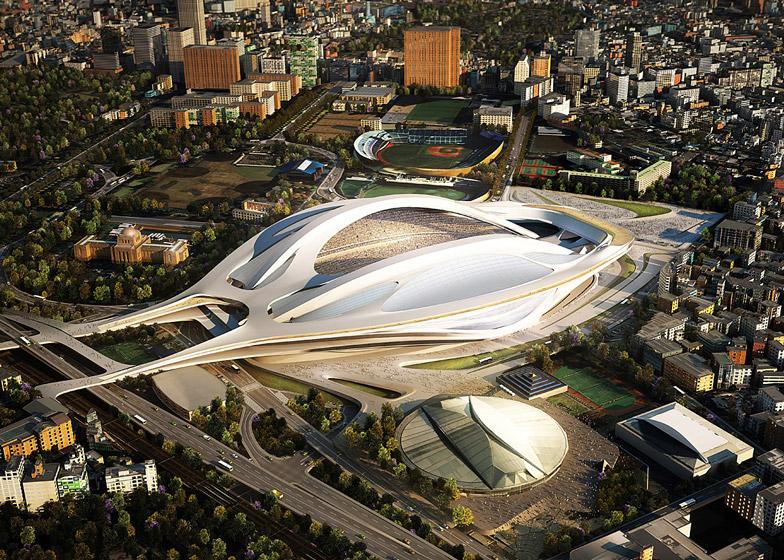 Проект лондонского бюро Zaha Hadid Architects, в итоге отклоненный