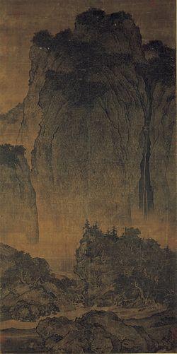 Fan_Kuan_-_Travelers_Among_Mountains_and_Streams_