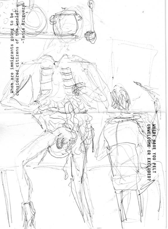 Илл. О. Житлина. Из серии «Авто-анатомический театр»