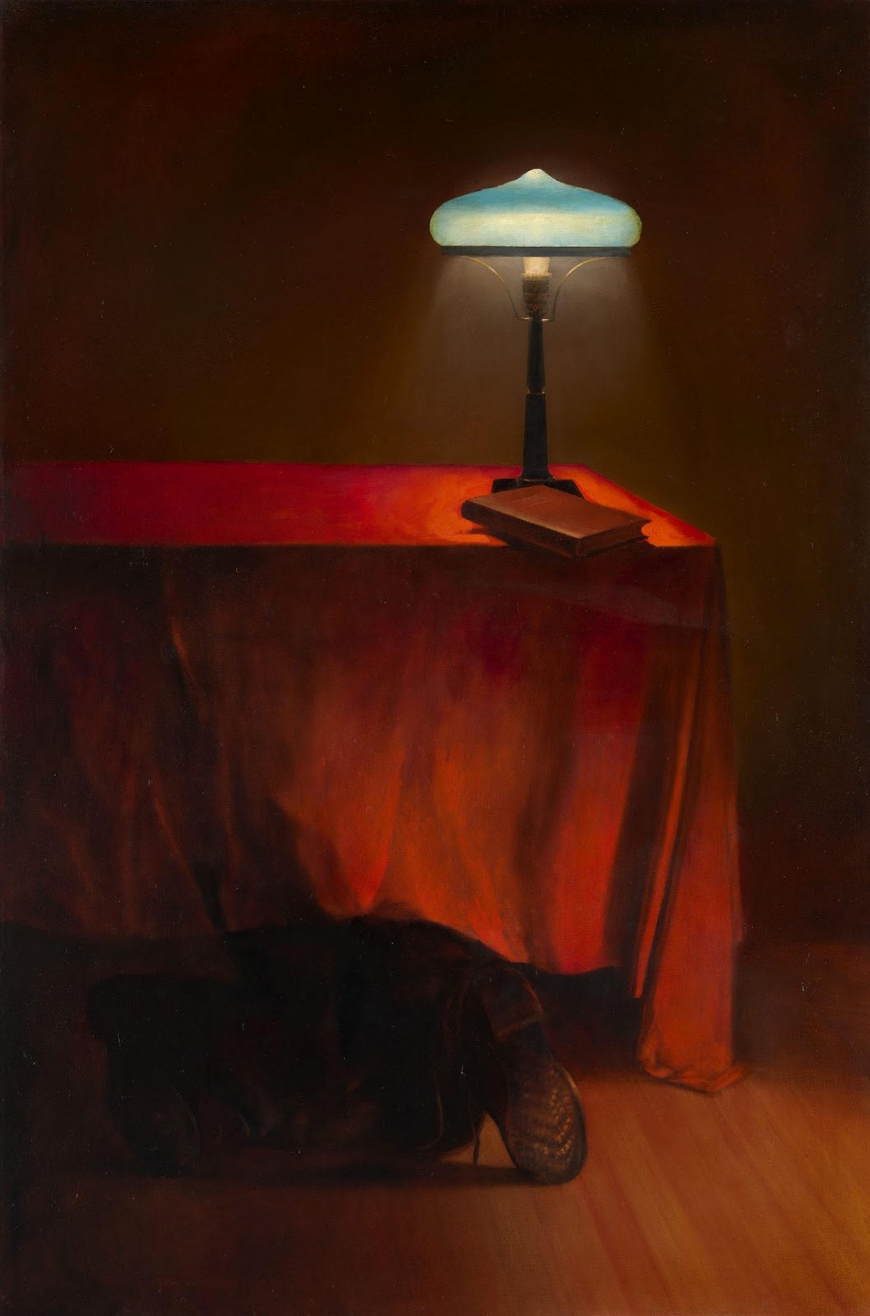В. Комар, А. Меламид. «Стук в дверь» из серии «Ностальгический соцреализм». 1981−1983