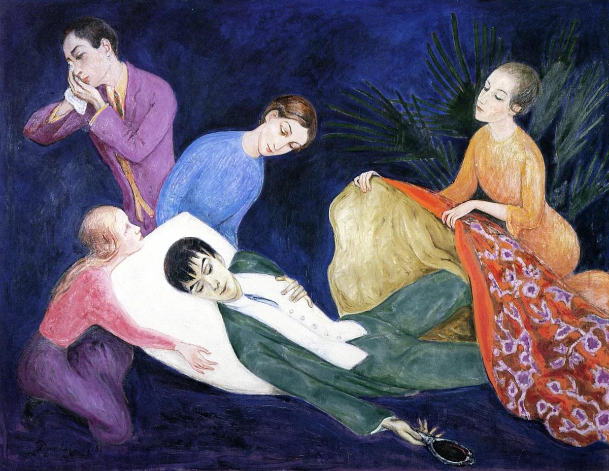 <i>«Умирающий денди», Нильс фон Дарель, 1918, Швеция.</i>
