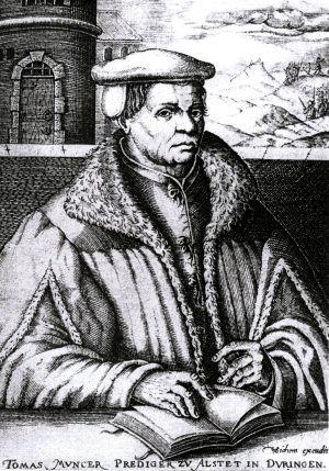 Христианский еретик и утопический коммунист Томас Мюнцер