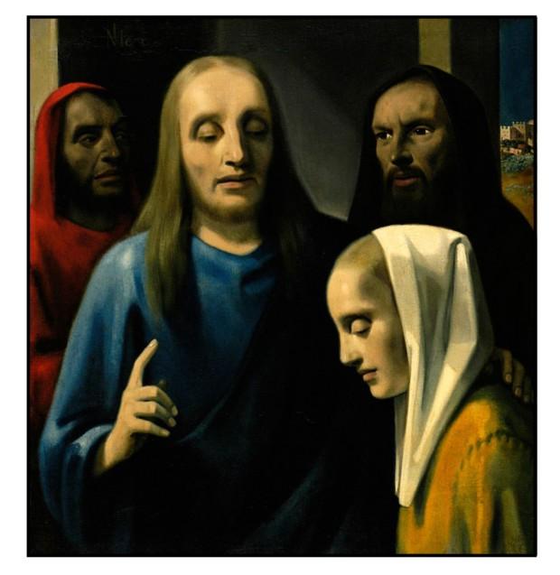 Подделка Хан ван Мегерен «Христос и изменщики». 1942