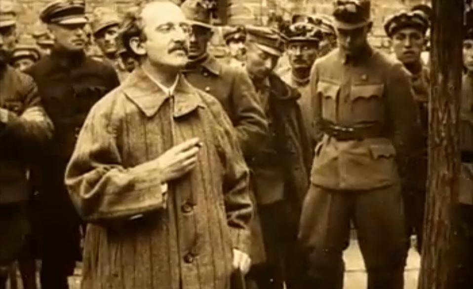 Лукач-фронтовой комиссар венгерской Красной армии в 1919 году