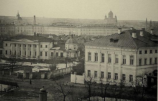 Вид с Покровского бульвара