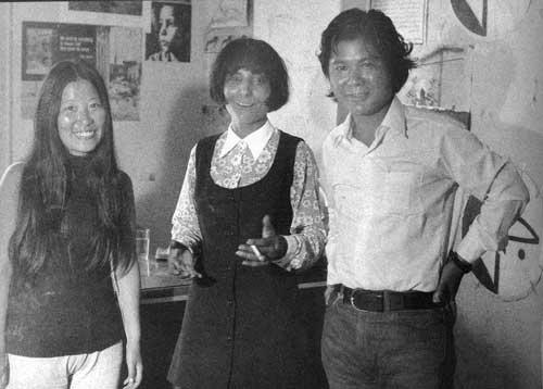 Фусако Шигенобу, Лейла Халед и Кодзи Вакамацу. Ливан, 1971