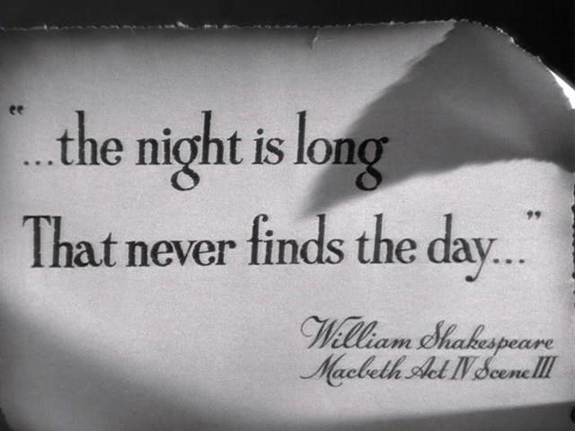 """Кадр из фильма """"Долгая ночь"""" (The Long Night, 1947)"""