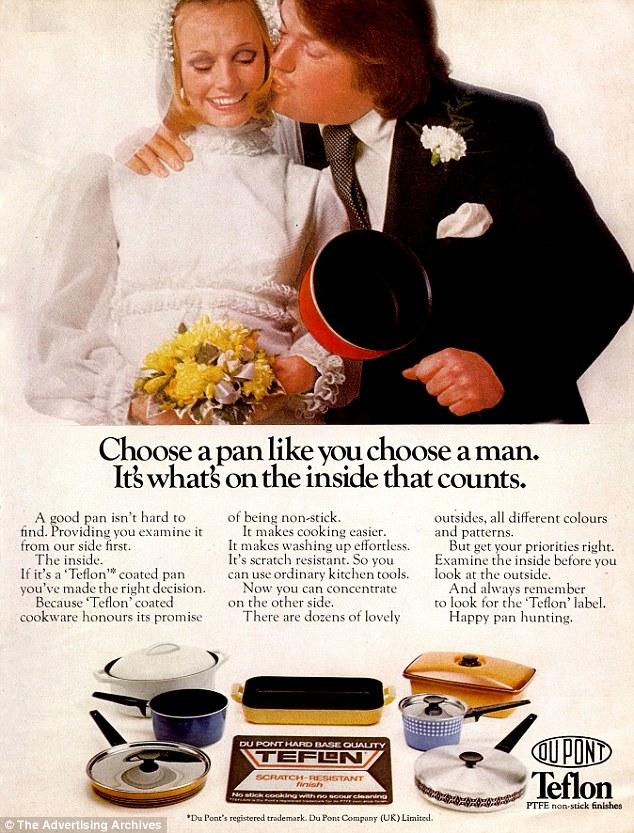 Реклама тефлона, 1970-е