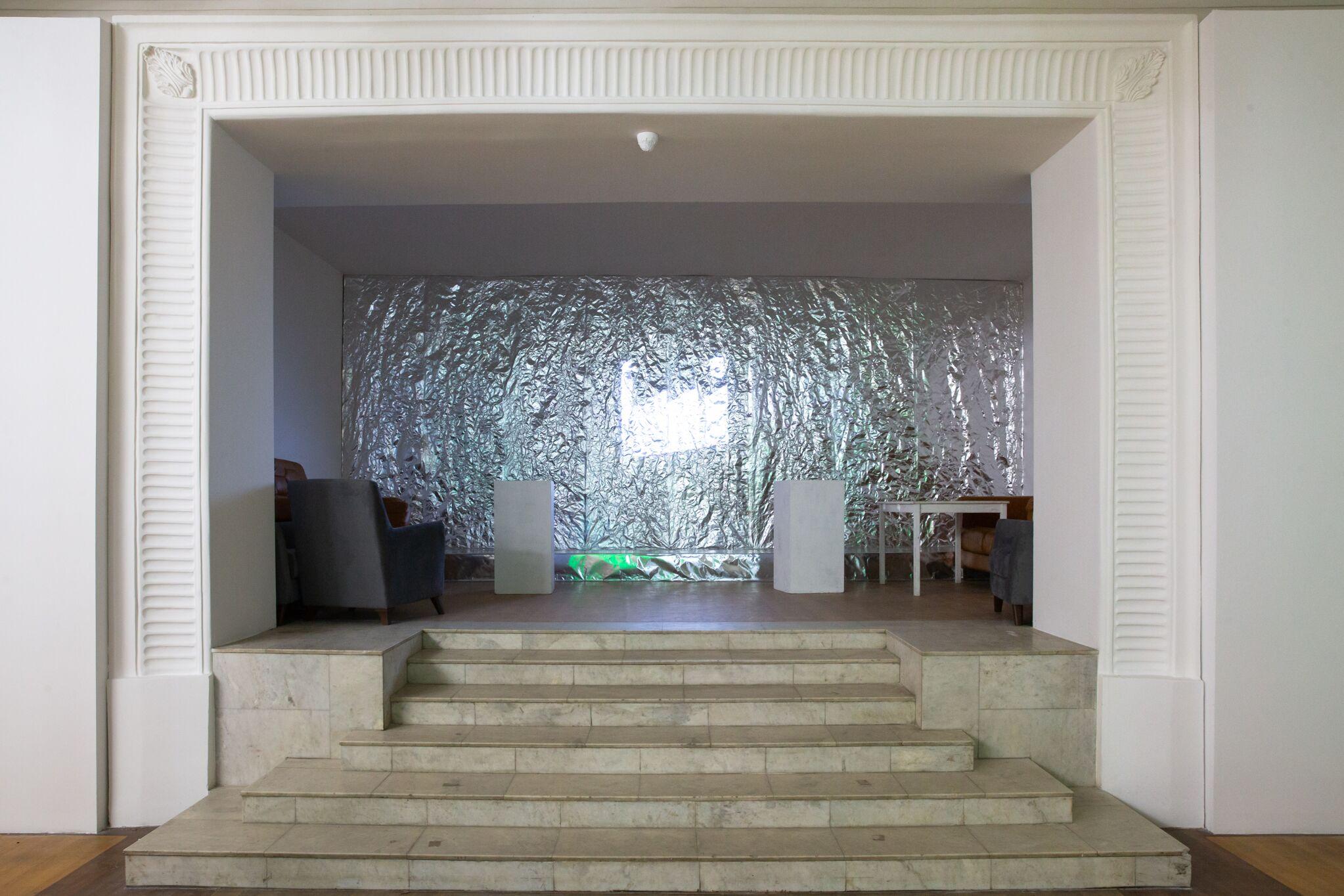 Пространство проведения дискуссии, к/т «Колизей»