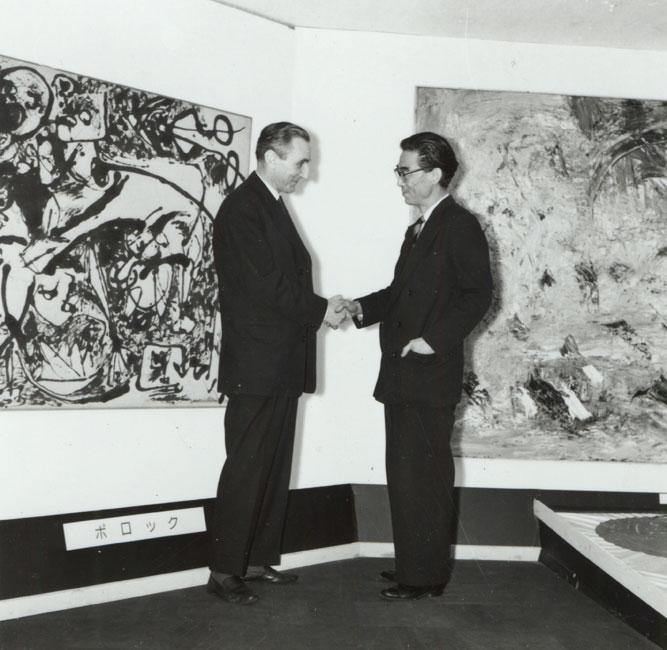 Выставка «Международное Искусство Новой Эры», 1958 год. Courtesy: https://tinyurl.com/ucsnswl