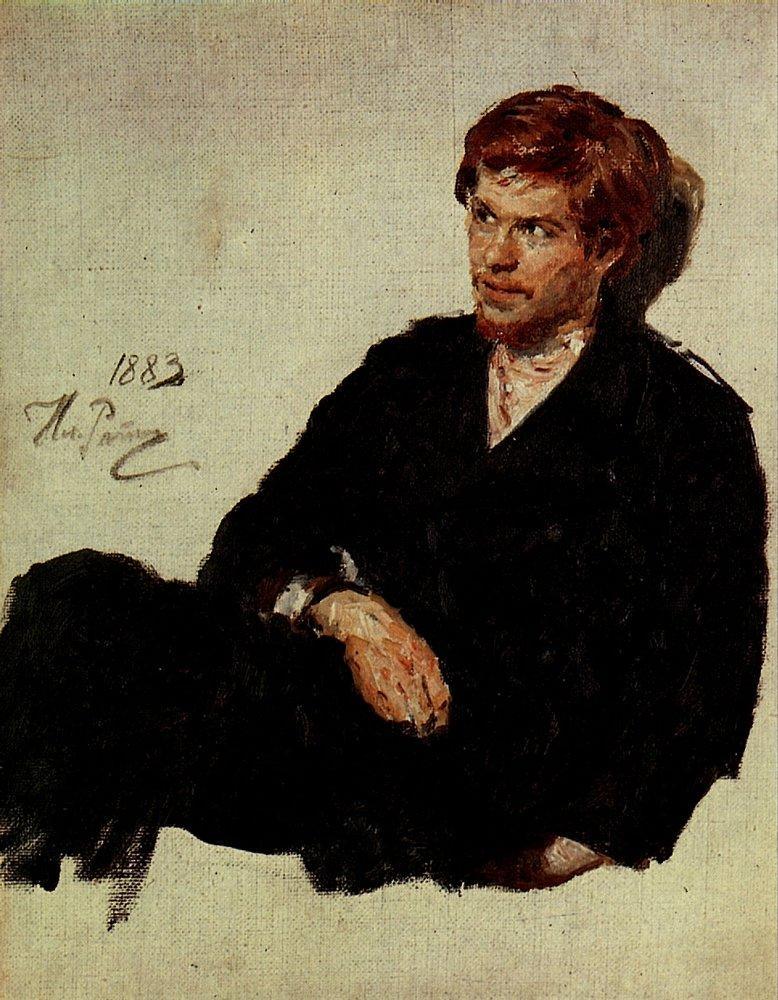 Илья Репин, Студент-нигилист, 1883