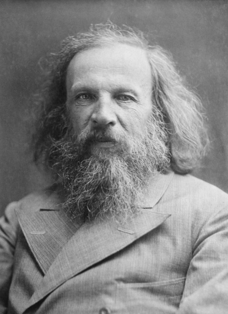 Д. И. Менделеев (1832-1907)