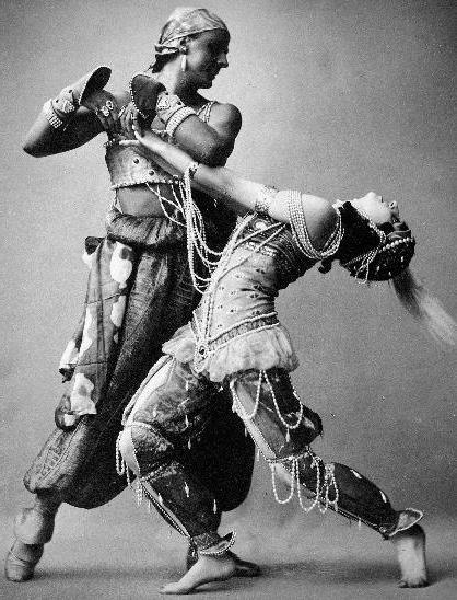 Михаил Фокин в балете «Шахерезада»