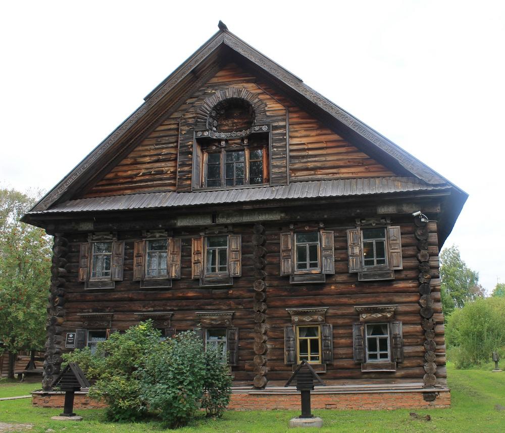 Дом в музее деревянного зодчества