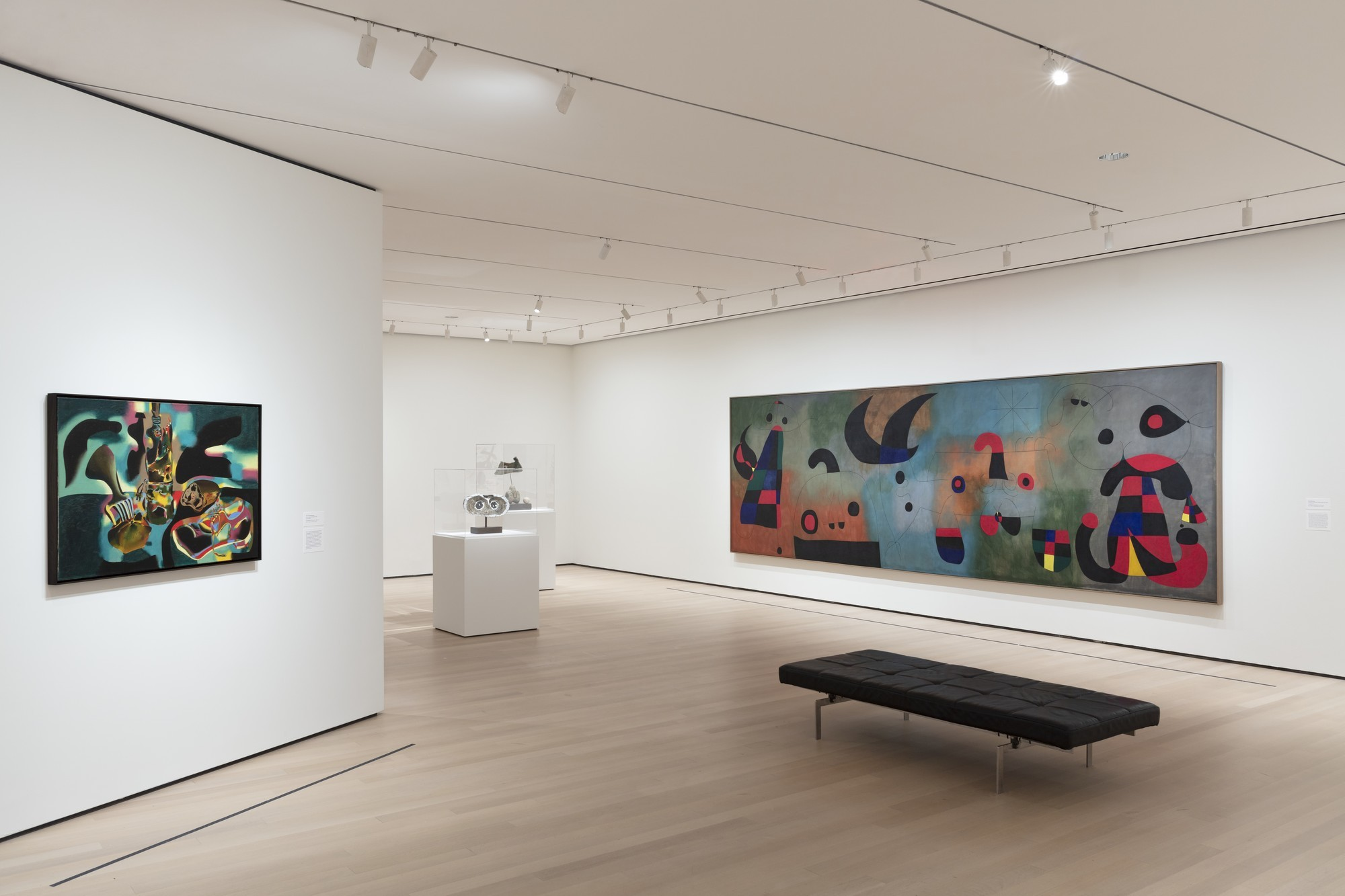 """Installation view of the exhibition """"Joan Miró: Birth of the World"""". Photograph by Denis Doorly. 2019"""