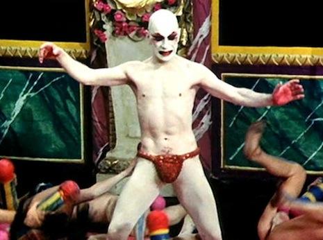 "Линдси Кемп в ""Себастьяне"" Джармена (1976 год)."