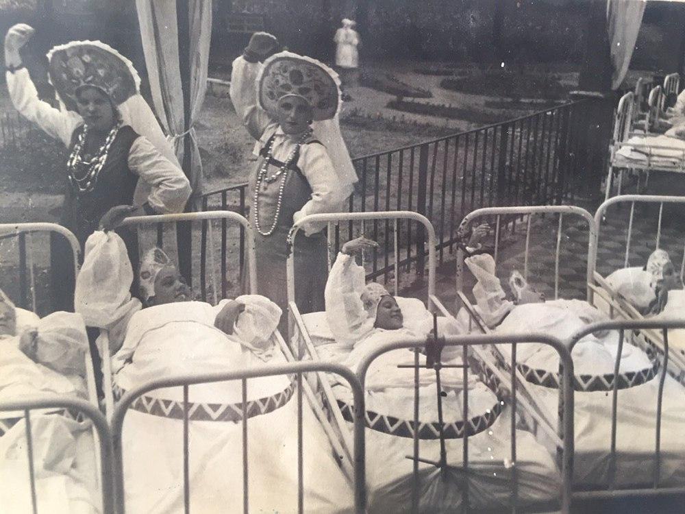 фотографии из семейного архива К. Хасиной